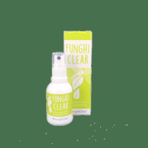 FunghiClear antischimmelspray tegen voetschimmel en nagelschimmel kalknagels | LePair Webshop