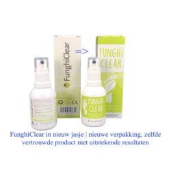 FunghiClear in nieuw jasje | nieuwe verpakking FunghiClear, zelfde vertrouwde product met uitstekende resultaten