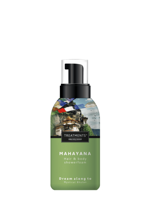 Treatments Mahayana Hair and body showerfoam - LePair Webshop
